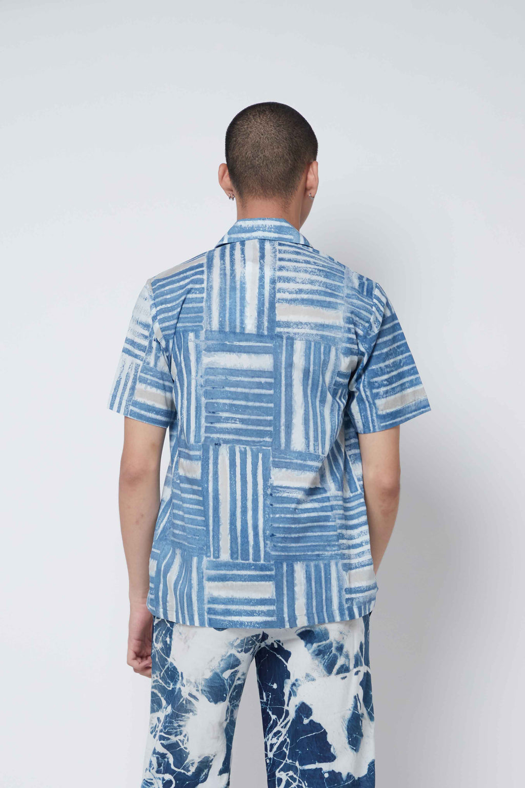 Blue Lines Shirt - Imaji Studio