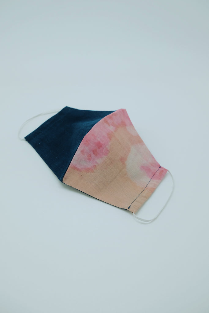 Watercolor Fabric Mask - Imaji Studio