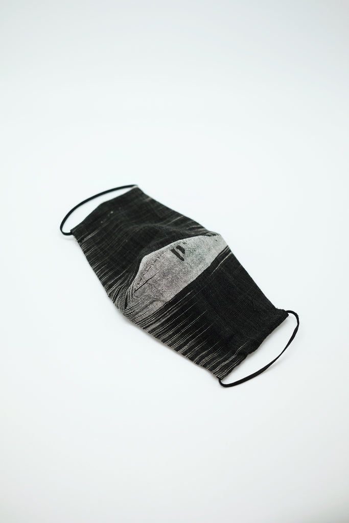 Monochrome Fabric Mask - Imaji Studio