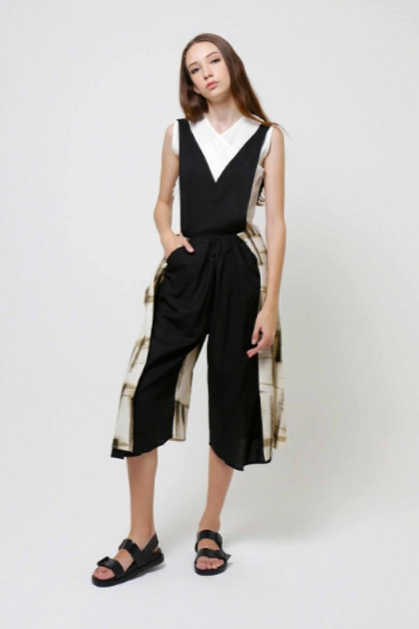 Pinafore Jumpsuit - Imaji Studio