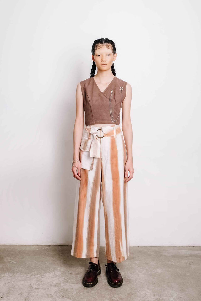 Brown Croptop - Imaji Studio