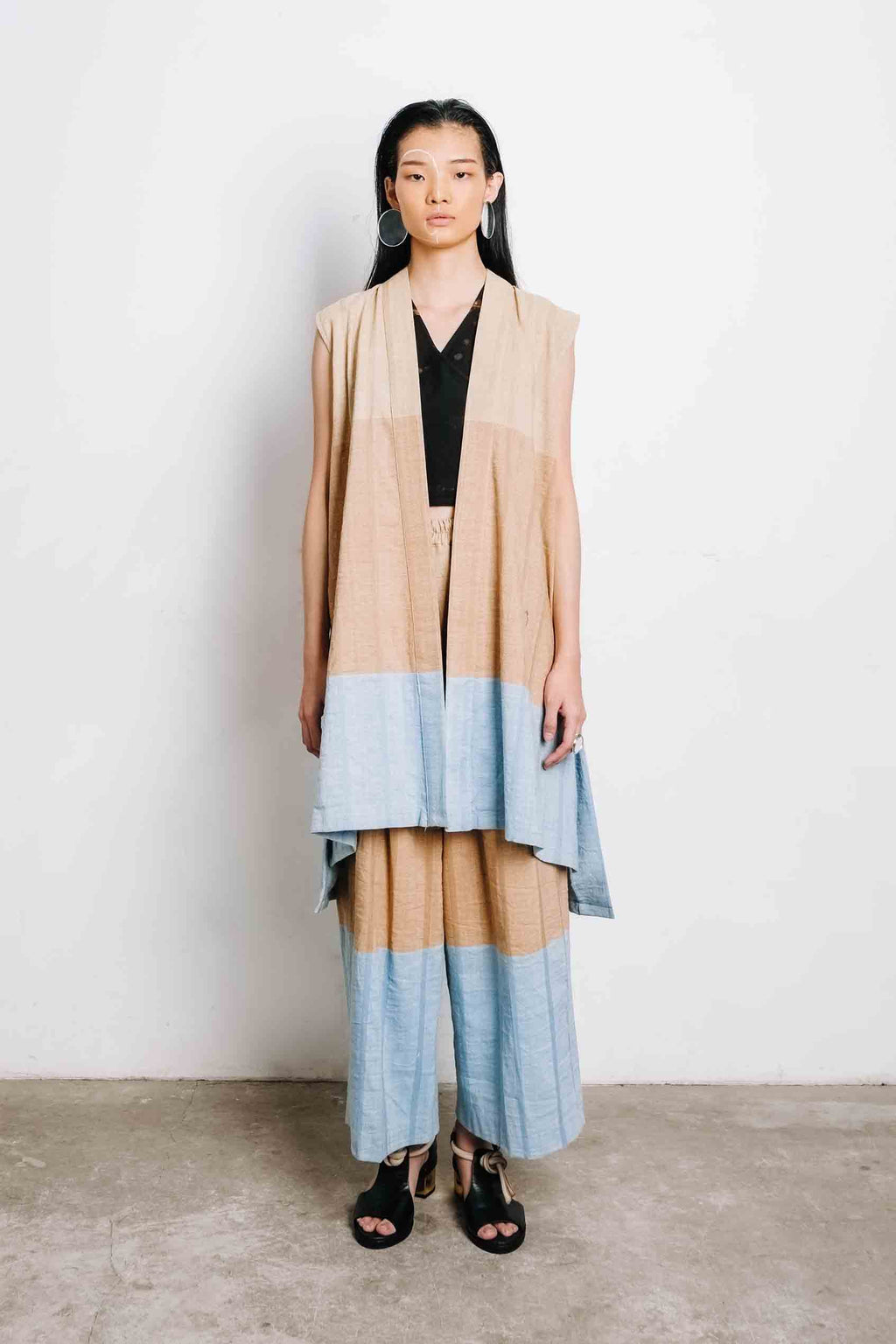 Three Tone Vest - Imaji Studio