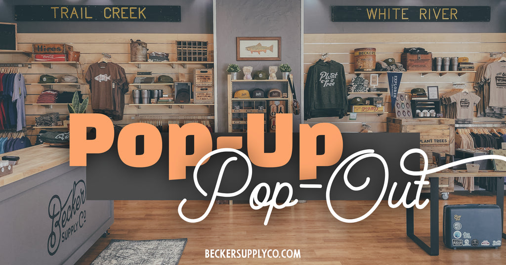 Becker Supply Co. Pop-Up Pop-Out