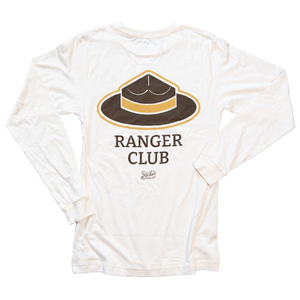 Ranger Club Long Sleeve Natural Tee