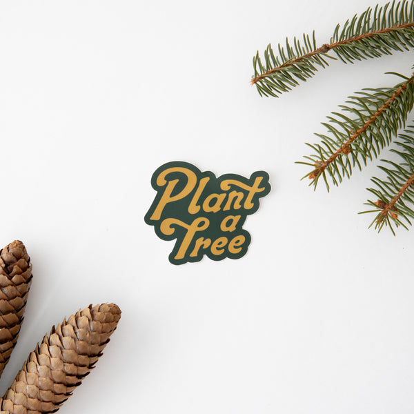 Plant a Tree Sticker
