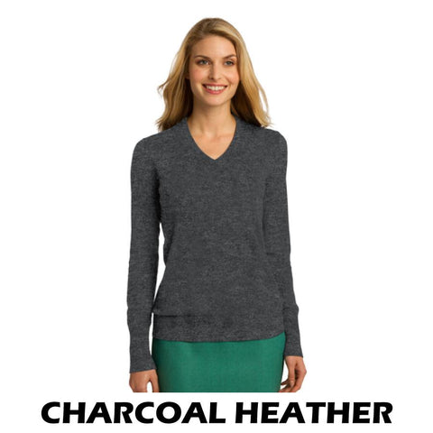 NLCC LSW285 Ladies V-Neck Sweater