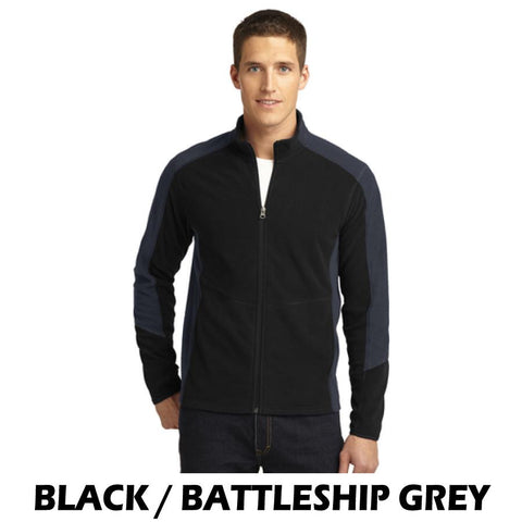 NLCC F230 Mens Colorblock Microfleece Jacket
