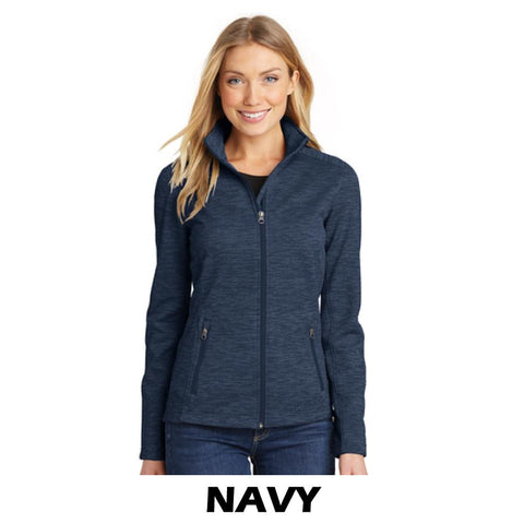 NLCC L231 Ladies Digi Stripe Fleece Jacket
