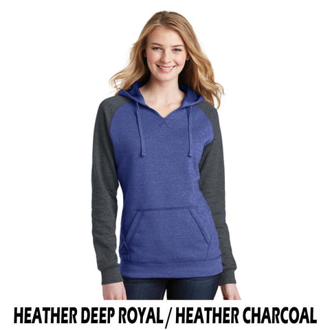 NLCC DT296 Ladies Athletic Fit Fashion Hoodie