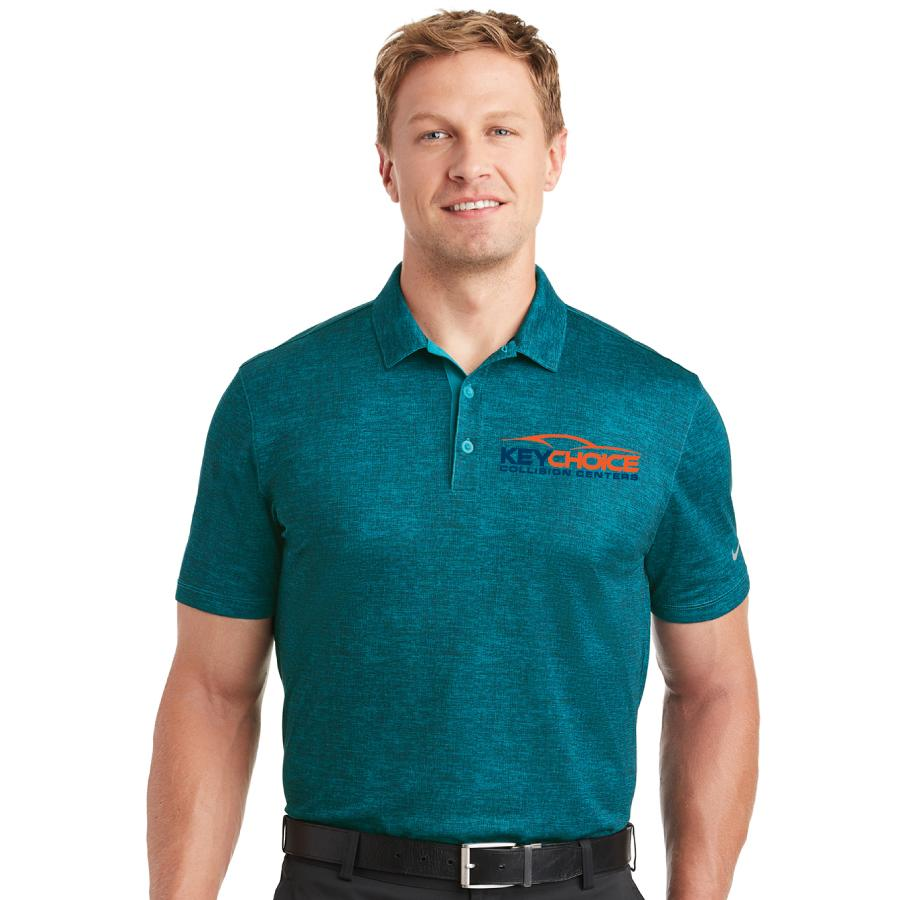 Key Choice Nike Dri-FIT Crosshatch Polo Men's