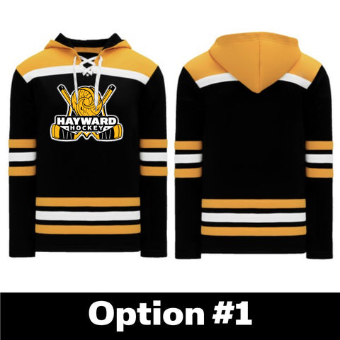 HYH A1850-498 Youth Hockey Lace Up Hoodie