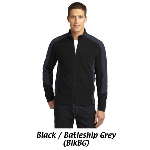 MMC Port Authority® Colorblock Microfleece Jacket F230