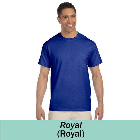 MMC G230 - Gildan Adult Ultra Cotton Pocket T-Shirt