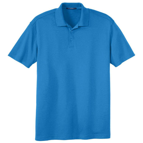 Key Choice Silk Touch™ Interlock Performance Polo Men's