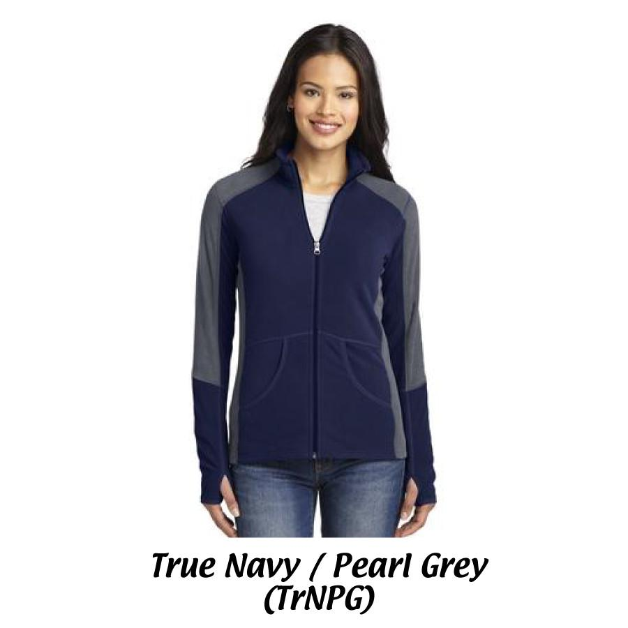 MMC Port Authority® Ladies Colorblock Microfleece Jacket L230