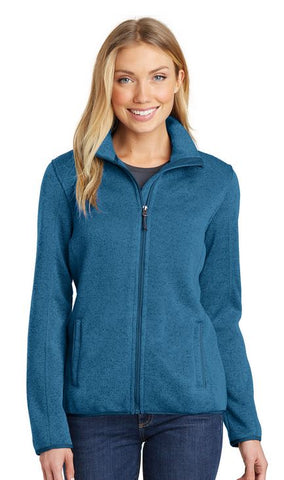 MMC Holiday L232 Port Authority Ladies Sweater Fleece Jacket