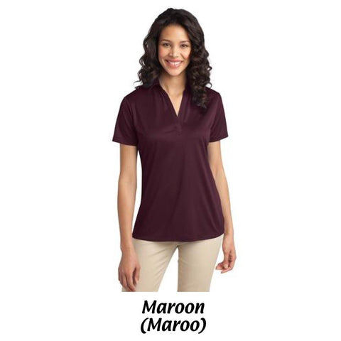 AMH Port Authority® Ladies Silk Touch™ Performance Polo L540