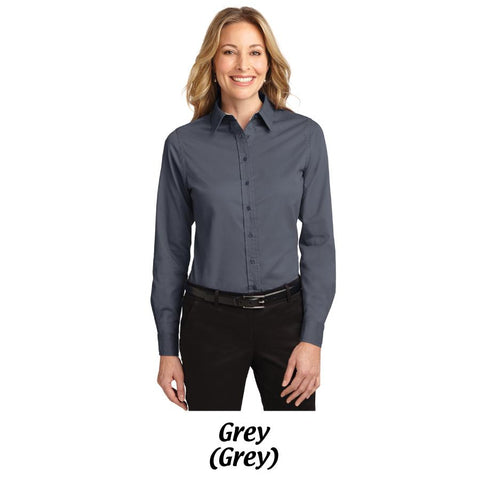 NLCC Port Authority® Ladies Long Sleeve Easy Care Shirt L608 -- S