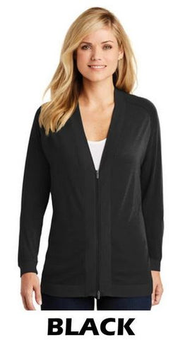 MMC LK5431 Port Authority® Ladies Concept Bomber Cardigan