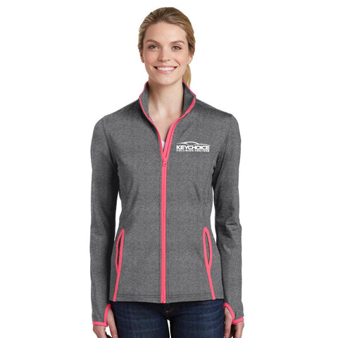 Key Choice Stretch Contrast Full-Zip Jacket Women's