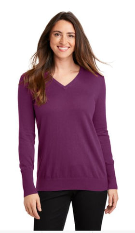 MMC LSW285 Port Authority® Ladies V-Neck Sweater