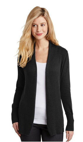 MMC Holiday LSW289 Port Authority Ladies Open Front Cardigan Sweater