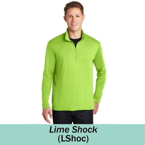 HAMH ST357 Sport Tek Posicharge Competitor 1/4 Zip Pullover