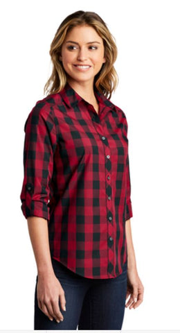 HAMH LW 670 Port Authority® Ladies Everyday Plaid Shirt