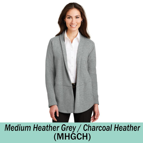 HAMH L807 Ladies Interlock Cardigan