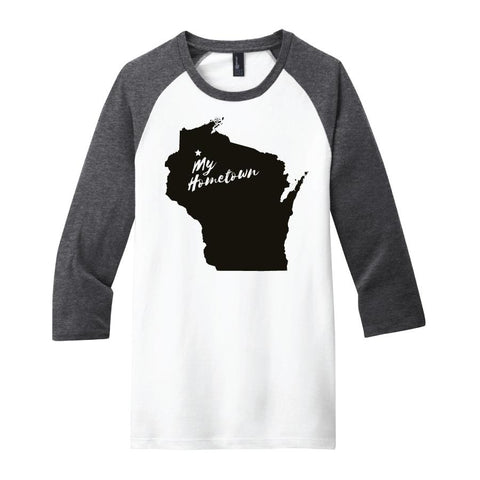 Hometown 3/4 Sleeve T-Shirts