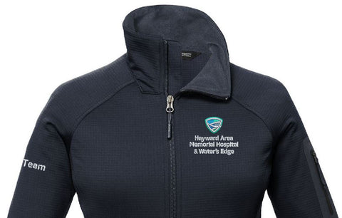 Medical Team Apparel The North Face NF0A47FE Ladies Mtn Peaks Full Zip Jacket