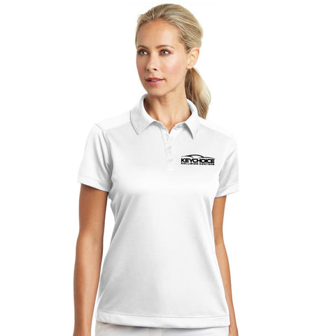 Key Choice Nike Ladies Dri-FIT Pebble Texture Polo Women's