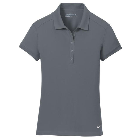 Key Choice Nike Ladies Dri-FIT Solid Icon Pique Modern Fit Polo Women's