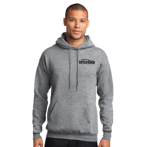 Key Choice Core Fleece Pullover Hooded Sweatshirt