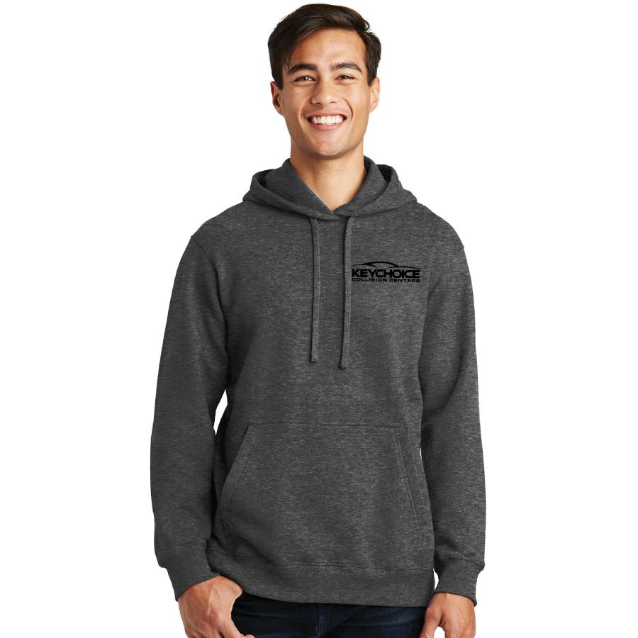 Key Choice Fleece Pullover Hooded Sweatshirt