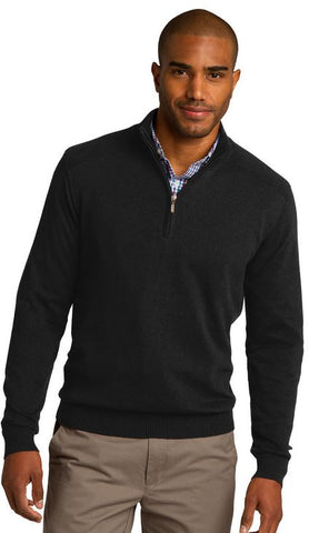 MMC Holiday SW290 Port Authority 1/2 Zip Sweater