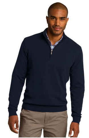 MMC SW290 Port Authority 1/2 Zip Sweater