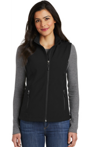 RHS Ladies Soft Shell Vest L325