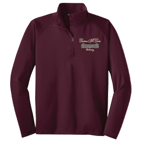 Chateau St. Croix Men's & Ladies' Stretch 1/2 Zip Pullover