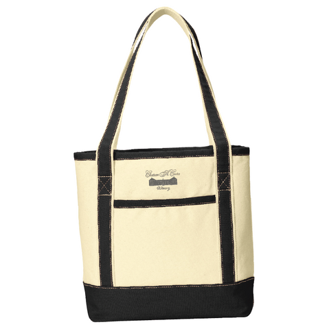 Chateau St. Croix Cotton Canvas Tote