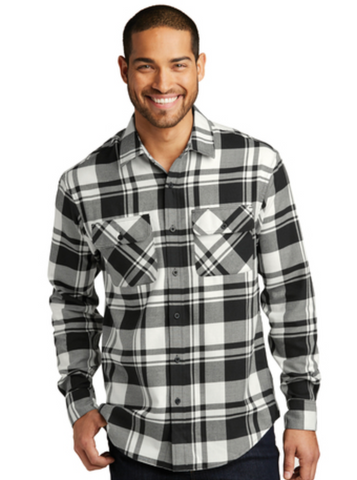 HAMH W668 Port Authority Plaid Flannel