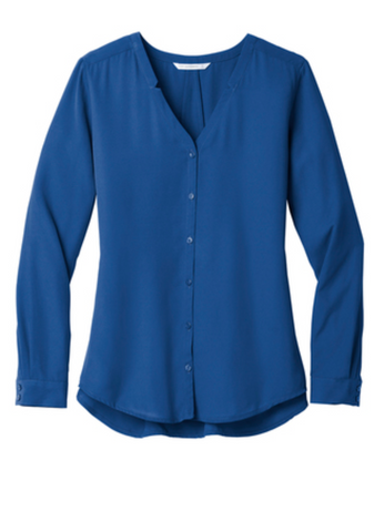 MMC - LW700 Port Authority Ladies Long Sleeve Blouse