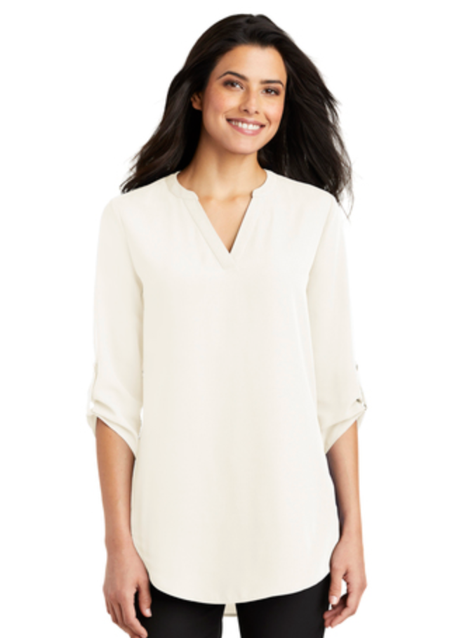 MMC - LW701 Port Authority 3/4 Sleeve Tunic Blouse
