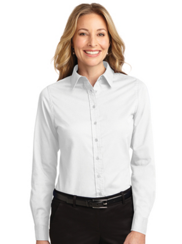 NLCC Port Authority® Ladies Long Sleeve Easy Care Shirt L608
