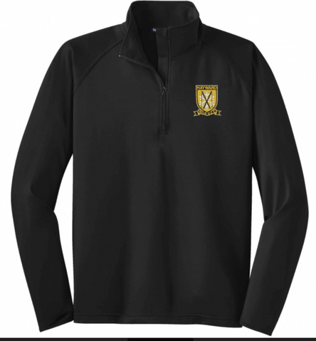 HNS ST850 Lined Stretch 1/4 Zip Pullover