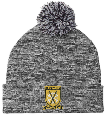 HNS ST41 Knit Beanie with Embroidered Logo