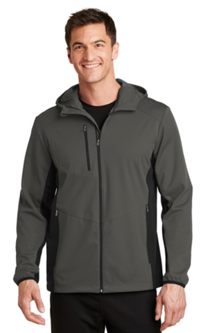 MMC J719 Unisex Active Hooded Soft Shell Jacket