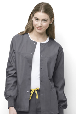 UNISEX WonderWink Origins Delta Warm-Up Jacket 8006