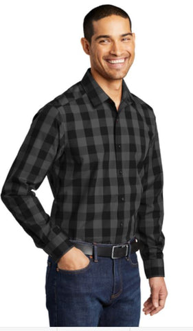 HAMH W670 Port Authority® Everyday Plaid Shirt