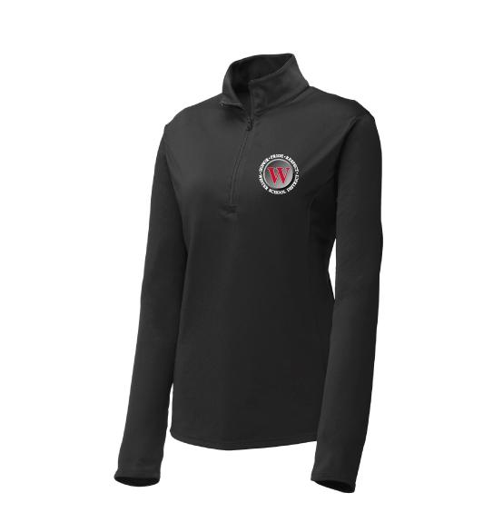 Winter Warriors Ladies Lightweight Quarter Zip
